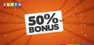 bonus 50 slotsmillion