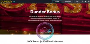 Dunder - uusi kasino