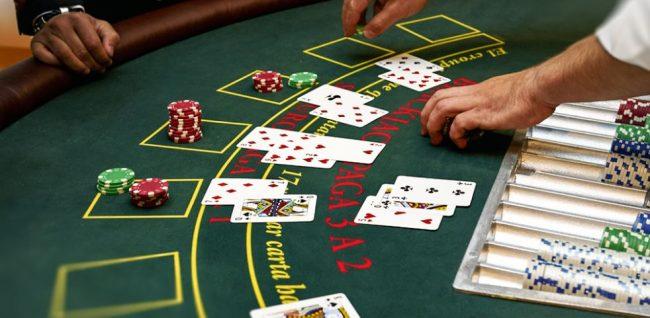 blackjack pöytä